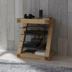 image-Homestyle Z Oak Designer Hifi Unit