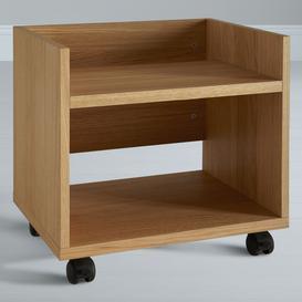 image-John Lewis & Partners Abacus Printer Trolley, FSC-Certified, Oak