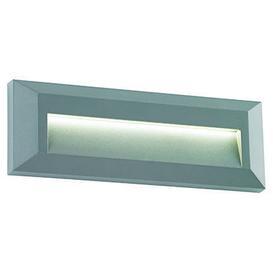 image-Severus landscape 2W LED indirect guide light in grey - ip65 - ik08 - 3000k - 65lm - 85958.