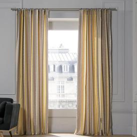 image-Chenonceau Pencil Pleat Room Darkening Curtain Madura