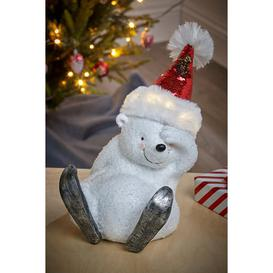 image-LED Polar Bear Christmas Decoration