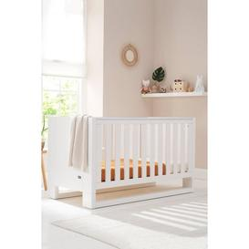 image-Rimini 3 in 1 Cot Bed - Gloss White
