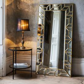 image-Gallery Direct Verbier Leaner Mirror / Silver