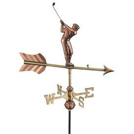 image-Boerpine Golfer Weathervane Sol 72 Outdoor
