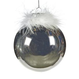 image-Feather Top Shiny Bauble (Set of 12) Goodwill