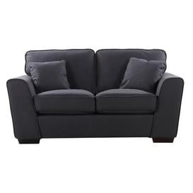 image-Venilale 2 Seater Loveseat Brayden Studio Upholstery Colour: Charcoal