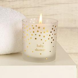 image-Bambino Little Star Candle 150g Cotton - Baby Shower