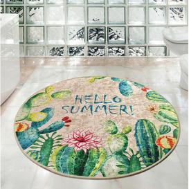 image-Ergin Circle Non-Slip Bath Mat Bloomsbury Market