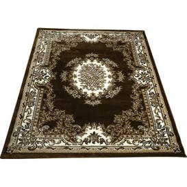 image-Epherus Traditional Brown Area Rug Rosalind Wheeler Rug Size: Rectangle 120 x 170cm