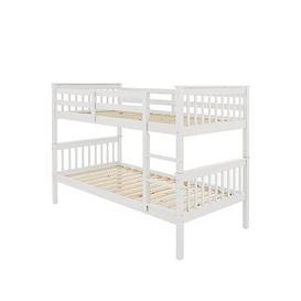 image-Novara Bunk Bed - Bunk Bed Frame With 2 Standard Mattresses