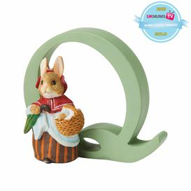 image-Peter Rabbit Letter Q Figurine