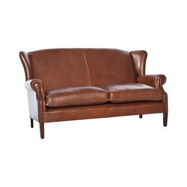 image-Regalado Genuine Leather Loveseat Rosalind Wheeler Upholstery: Birch White