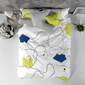image-Minimal Percale Duvet Cover Set Ebern Designs