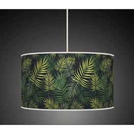 image-Polyester Drum Shade Bay Isle Home Size: 20cm H x 30cm W x 30cm D, Type: Ceiling/Wall