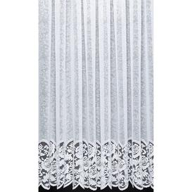 image-Alberton Slot Top Sheer Curtain Lily Manor Panel Size: Width 150 x Drop 102cm