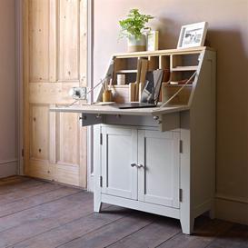 image-Chester Dove Grey Writing Bureau
