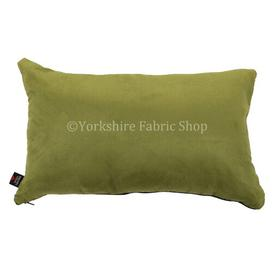 image-Grenada Cushion with Filling Yorkshire Fabric Shop Colour: Green