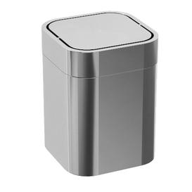image-Helen Stainless Steel Swing Top Rubbish Bin Belfry Bathroom