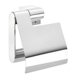 image-Nomad Wall Mounted Toilet Roll Holder with Lid Tiger