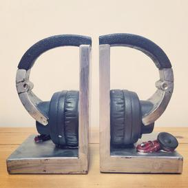 image-Headphones Shelf Tidy Bookends Latitude Run