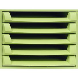 image-Mcintosh Desk Organiser Symple Stuff Colour: Green