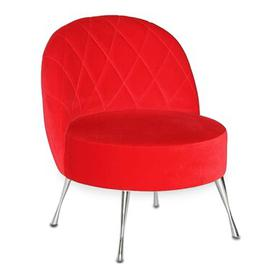 image-Loft Tub Chair Happy Barok Upholstery: Red