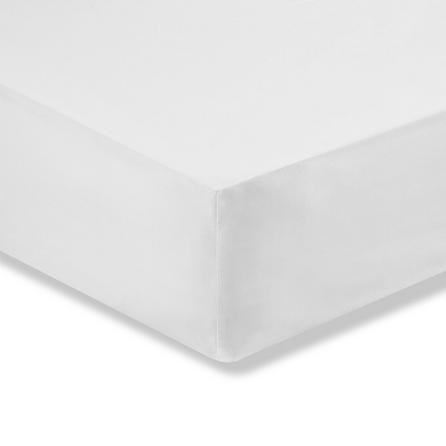 image-Easycare Cotton 180 Thread Count Fitted Sheet Cream