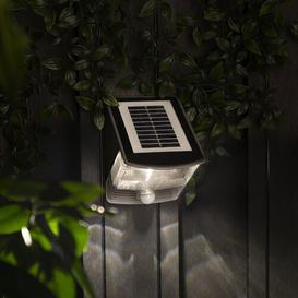 image-Ranex Triangle LED Solar Outdoor Bulkhead Light with Motion Sensor Smartwares