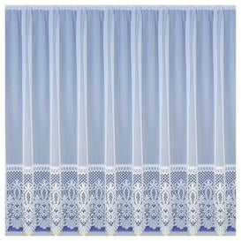 image-Willa Slot Top Semi Sheer Curtain Marlow Home Co. Panel Size: 500 W x 137 D cm