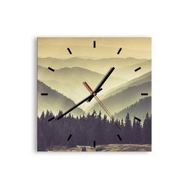 image-Didcot Silent Wall Clock Union Rustic