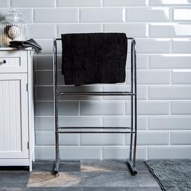image-3 Tier Free Standing Towel Rack Symple Stuff