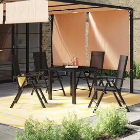 image-Jallet 4 Seater Dining Set Sol 72 Outdoor