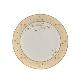 image-Christmas Feeling 23cm Bone China Dinner Plate Goebel