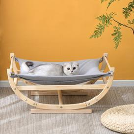 image-Teressa Specialty Cat Bed Archie & Oscar Colour: Grey