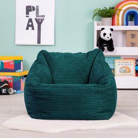 image-Maja Bean Bag Chair Mercury Row Upholstery Colour: Teal Green