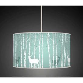 image-Polyester Drum Shade Fj├╕rde & Co Size: 22cm H x 40cm W x 40cm D, Type: Ceiling/Wall
