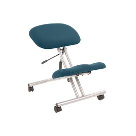 image-Malmo Kneeling Chair Silver Frame, Montserrat