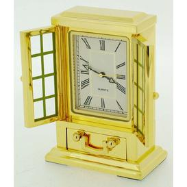 image-Table Clock Astoria Grand Finish: Gold