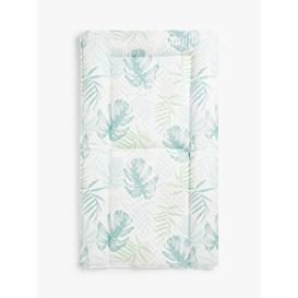 image-John Lewis & Partners Leaf Changing Mat, White/Multi