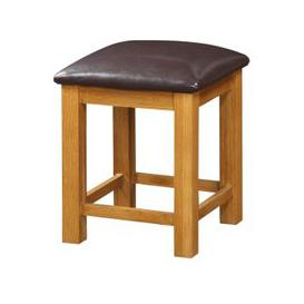 image-Acorn Wooden Dressing Table Stool