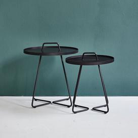 image-On-the-Move Aluminium Side Table Cane-line Colour: Yellow, Size: 54.1cm H x 44.2cm W x 44.2cm D