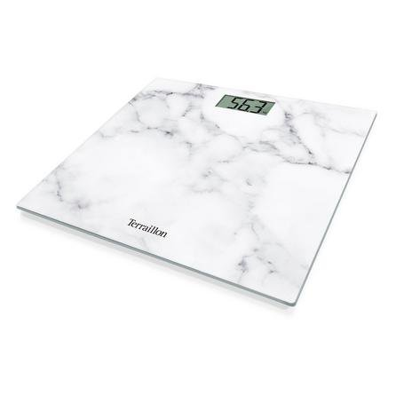 image-Terraillon White Marble Effect Scales