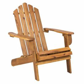 image-Hatch Lounge Chair Sol 72 Outdoor Colour: Natural acacia wood