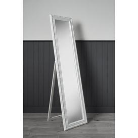 image-Large Shabby Chic Leaner Mirror