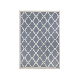 image-Indoor Outdoor Padua Geometric Rug Grey