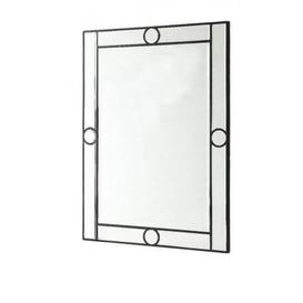 image-Giorgia Wood Frame Wall Mirror Glass