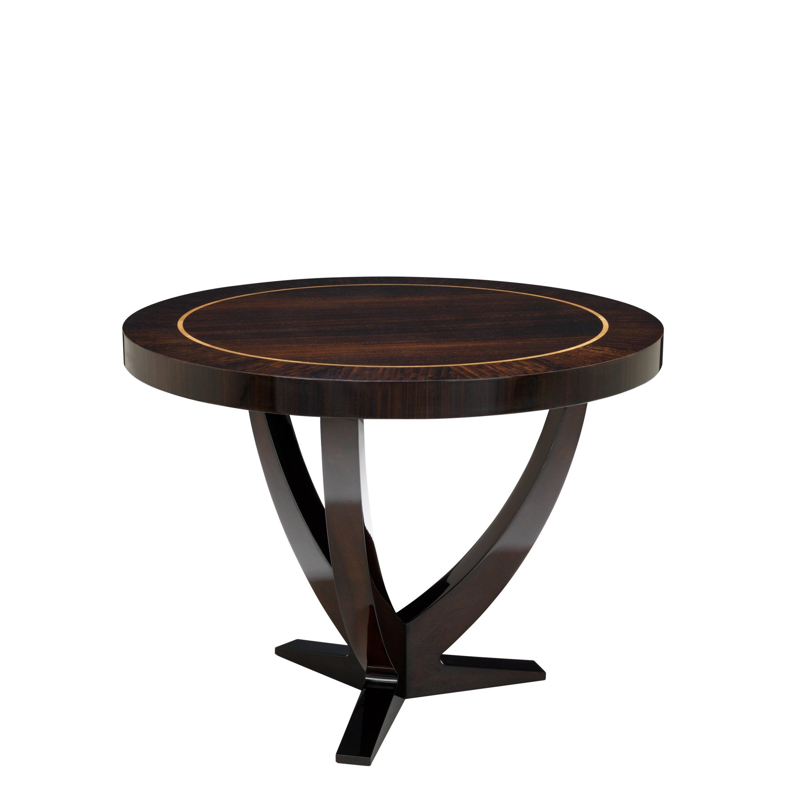 image-Eichholtz Centre Table Umberto ├╕ 100 cm eucalyptus veneer