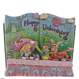 image-Happy Unbirthday Figurine Disney Traditions