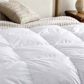 image-Scandinavian Down and Feather Blend 10.5 Tog Duvet Snuggledown