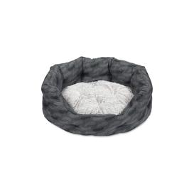 image-Petface Feather Oval Dog Bed